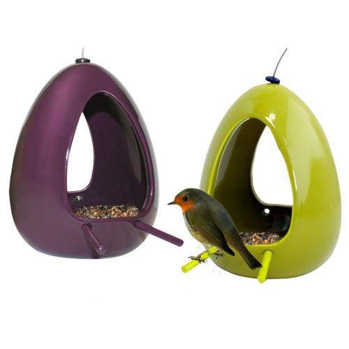 EXTERIEUR - Oiseaux des jardins - Mangeoires Ovö pour oiseaux