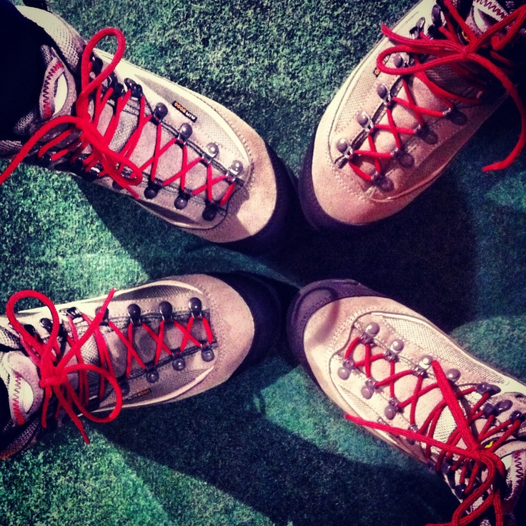 Newin outdoor shoes by #aku: me and @lucydfx like a twins!!!!