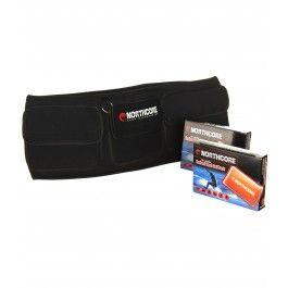 ceinture chauffante   2 poches chauffantes - northcore - warm belt   warm pocket