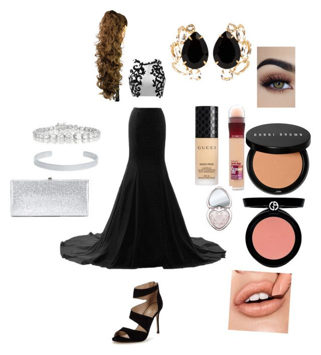 """""""Another red carpet look"""" by ludmila-makuch on Polyvore featuring Carvela, Bounkit, Collette Z, Maison Margiela, Jimmy Choo, Gucci, Maybelline, Bobbi Brown Cosmetics and Too Faced Cosmetics"""