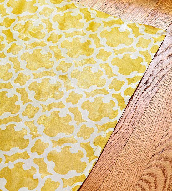 An Inexpensive Kid Friendly Rug Can Be Made From A Tablecloth Spray Or Paint