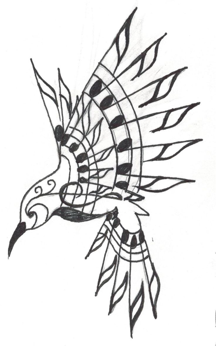 Pin 25 overwhelming rib tattoos for guys creativefan on pinterest -  My Grandma Loved Hummingbirds And My Grandpa Loves To Sing So I Drew This Tattoo