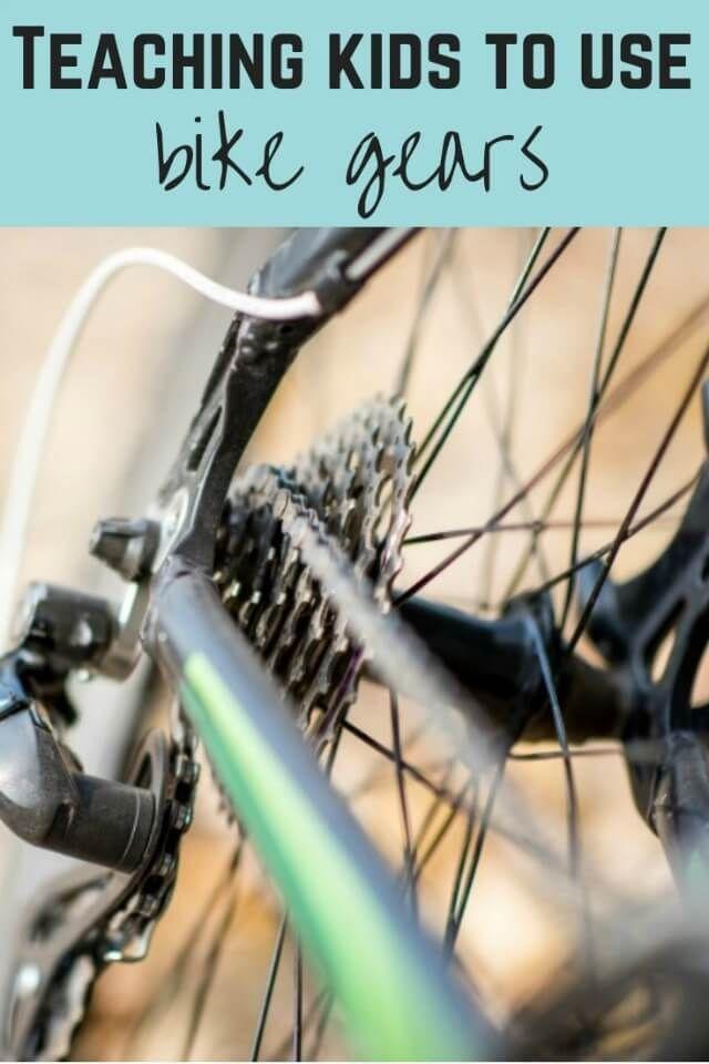 Big Bike Little Bike Bike Gears Explained To Kids Bike Gear