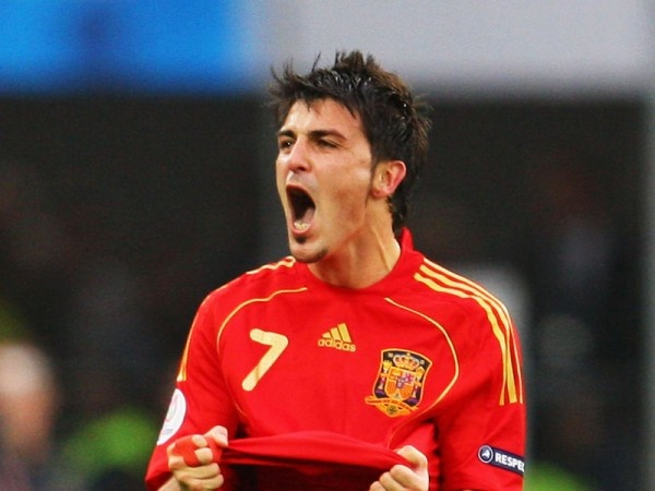 """David Villa: """"I tried right to the end but I wasn't able to get to 100 per cent for the Euro"""""""