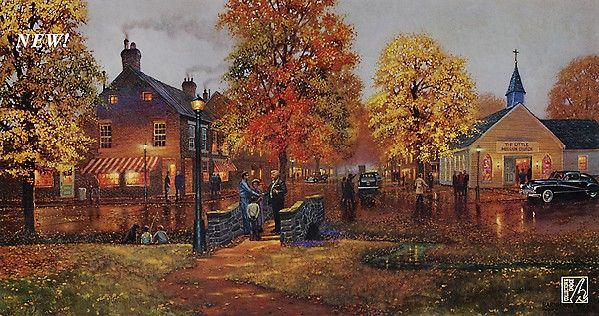 Bridge Street Auto >> 17 Best images about Dave Barnhouse Artist on Pinterest   Cas, Canvas prints and The gathering