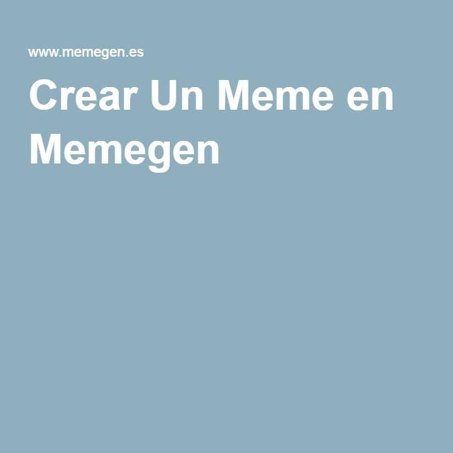Crear Un Meme en Memegen