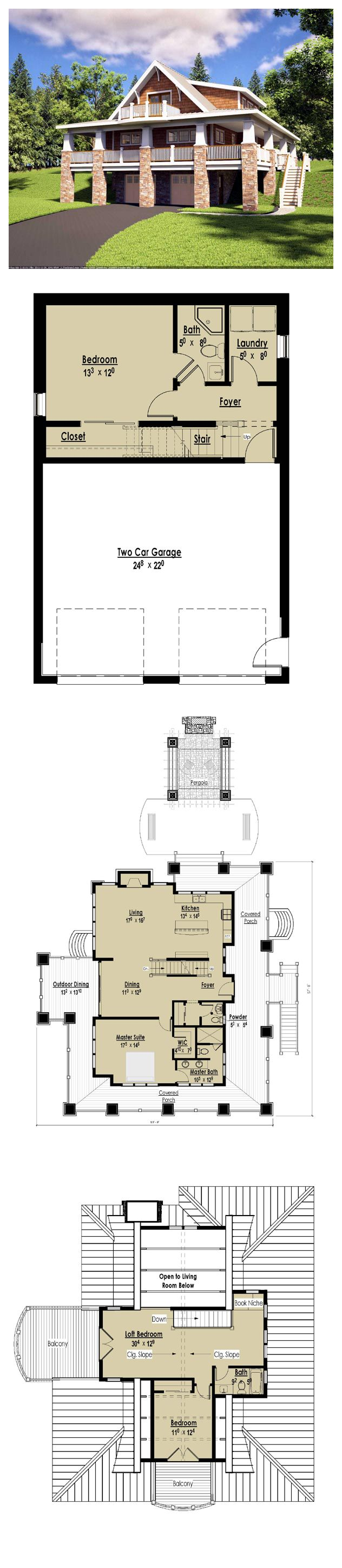 17 best bungalow house plans images on pinterest cool house cool house plans offers a unique variety of professionally designed home plans with floor plans by accredited home designers styles include country house