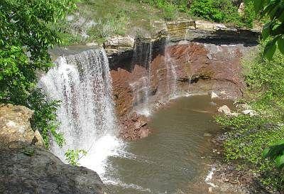 Maps to Kansas Waterfalls