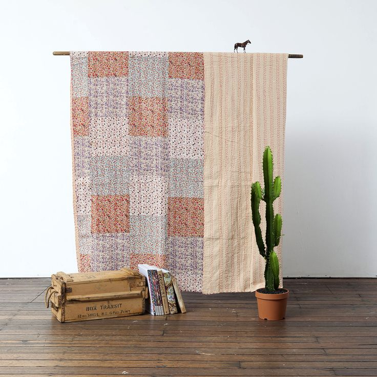 Dessert Afternoon Kantha Quilt