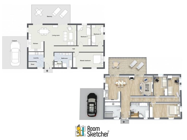 127 best images about home building with roomsketcher on Floor plan 3d download