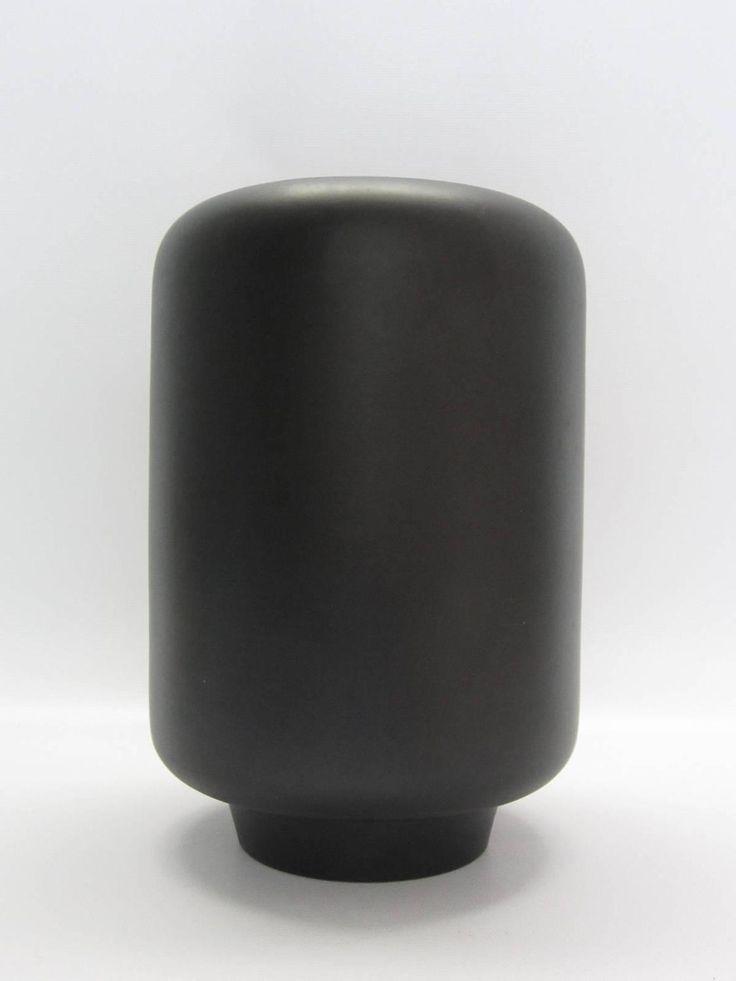 Tom Ford for Gucci Matte Black Ceramic Vase, Signed ...