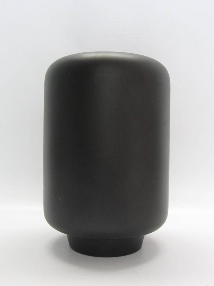 Tom Ford For Gucci Matte Black Ceramic Vase Signed Ceramic Vase Vases And Tom Ford