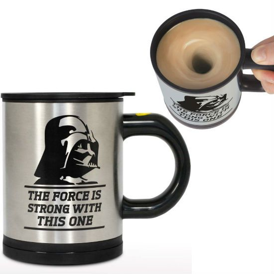 darth vader self stirring mug!