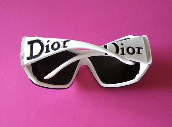 DIOR sunglasses  - Lunettes de Soleil DIOR - french  Accessories vintage - Twiggy