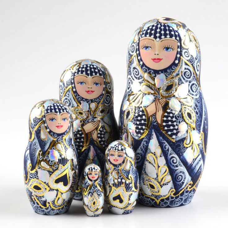 Blue Lace Queen Collectible Doll | High-end collectibles | The Russian Store