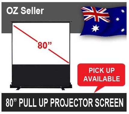 cheap home theatre pull up projector screen