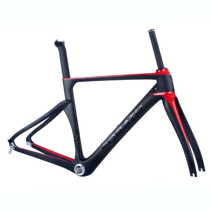 414.00$  Buy now - http://alicrg.worldwells.pw/go.php?t=32685610179 - Road Sobato Black Red Bicycle Carbon Frame T1000 UD Carbon bike Frame bicicleta carbono bici telai in carbonio race bicycle 414.00$