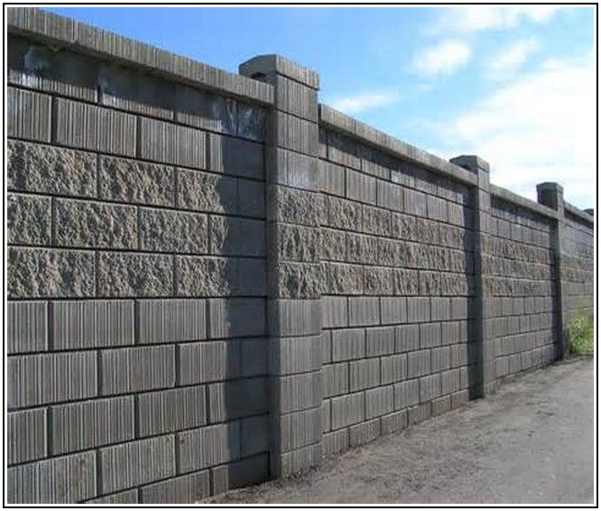 how to clean concrete block walls
