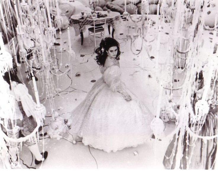 Sarah in the Labyrinth ballroom.