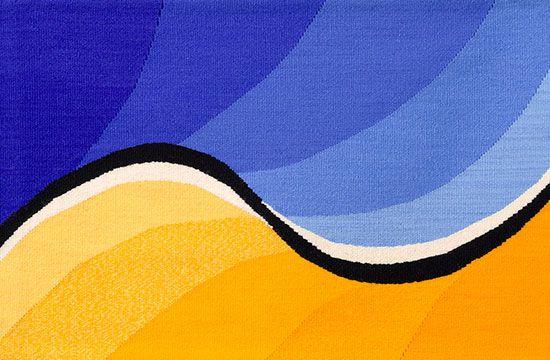 Tapestry Artist Linda Giesen: Sunburst
