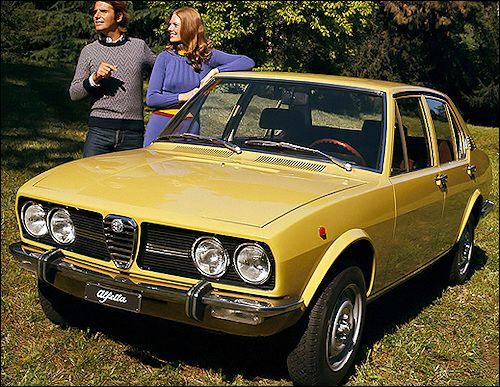 Alfa Romeo Alfetta 1.6 (1974)