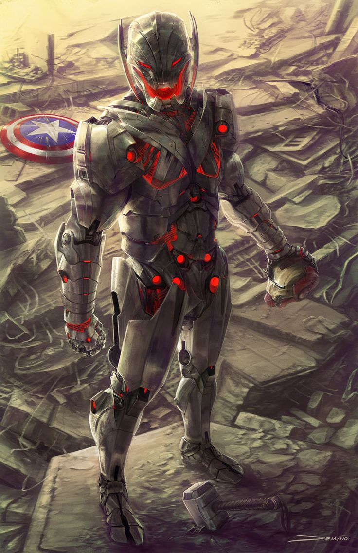Age of Ultron by Matthew DeMino