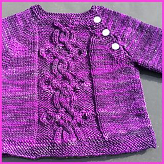 Join us in a KAL!! Due to cast on in October, choose between 3 patterns!  Mini Taliesin baby sweater pattern
