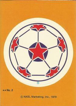 1979 Topps NASL #2 NASL Ball Front