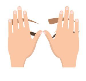 yoga des-yeux facepalming