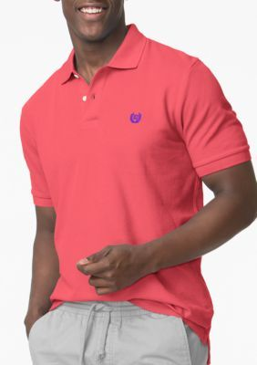 Chaps Amalfi Red Pique Polo Shirt