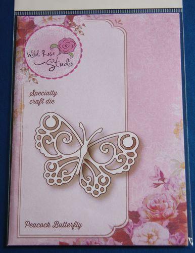 Wild Rose Studio 'Peacock Butterfly' Specialty Die | eBay
