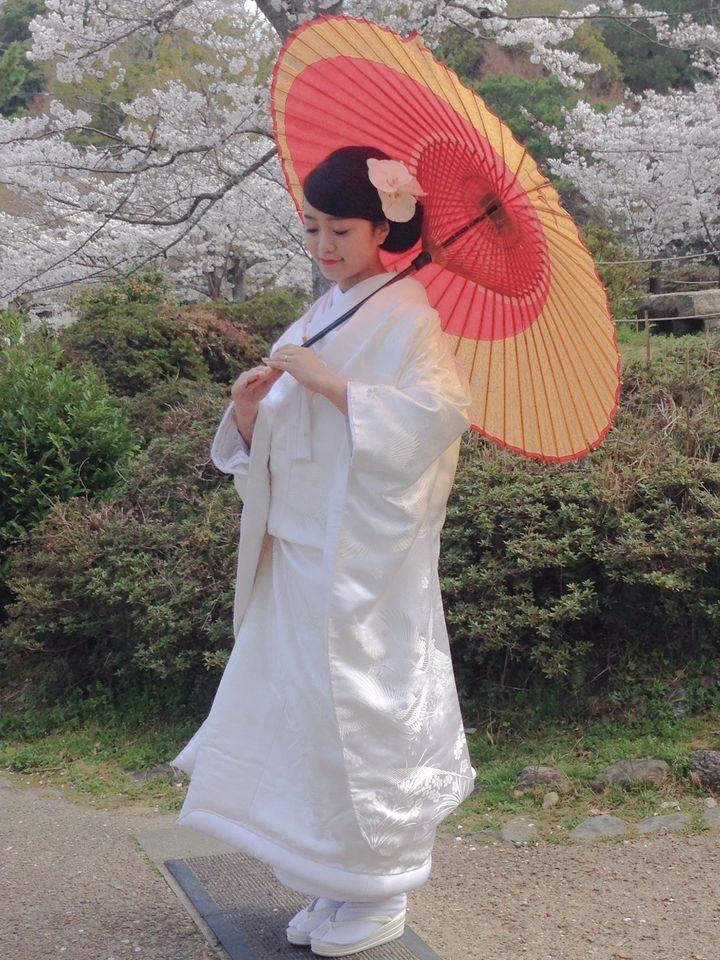 白花アレンジ1