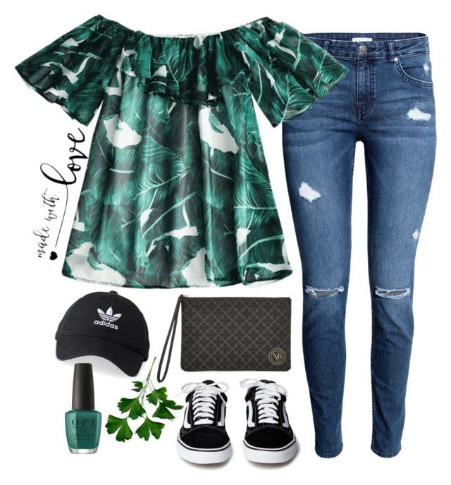 """""""Love"""" by helealb on Polyvore featuring By Malene Birger, adidas and GREEN"""