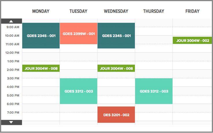 Schedule Graphic Design Google Search 시간표스타일