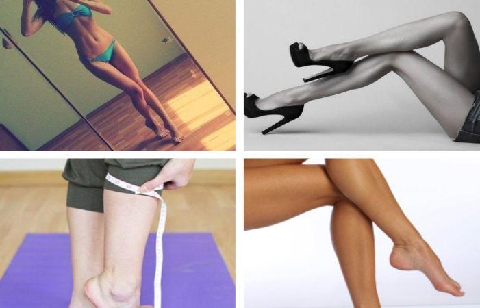 Как сделать чтобы икры ноги похудели