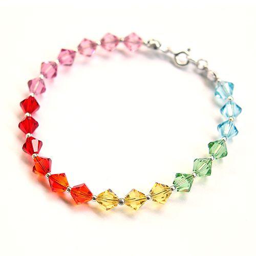 Light, joyfull rainbow.