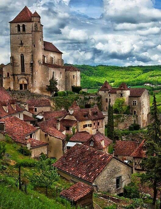 Saint Cirque Lapopie - France