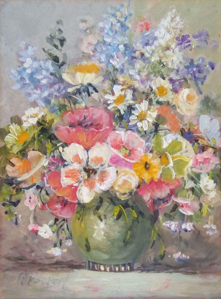Orsovai Valéria: Virágcsendélet