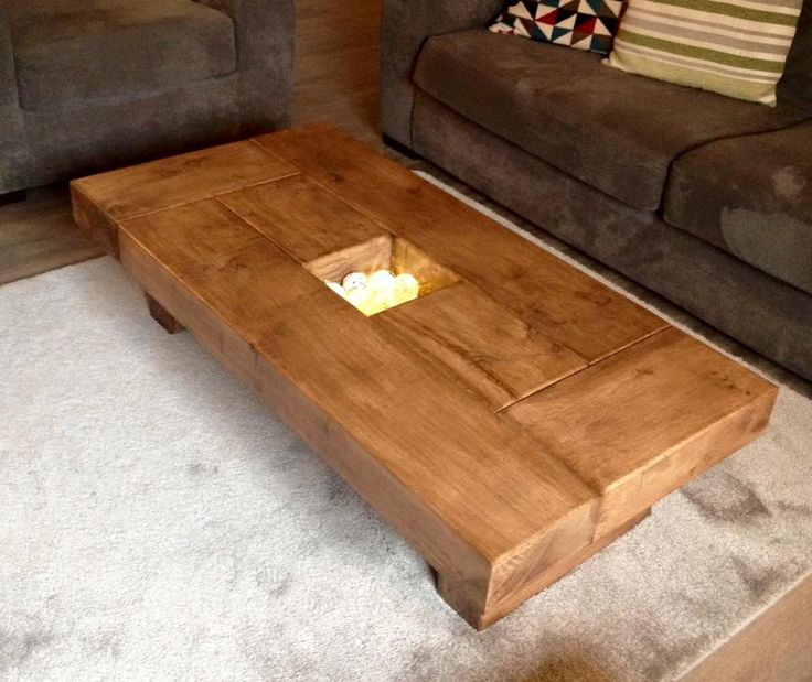Phebe Modern Oak Timber Coffee Table Square Timber Top: 25+ Best Ideas About Dark Wood Coffee Table On Pinterest