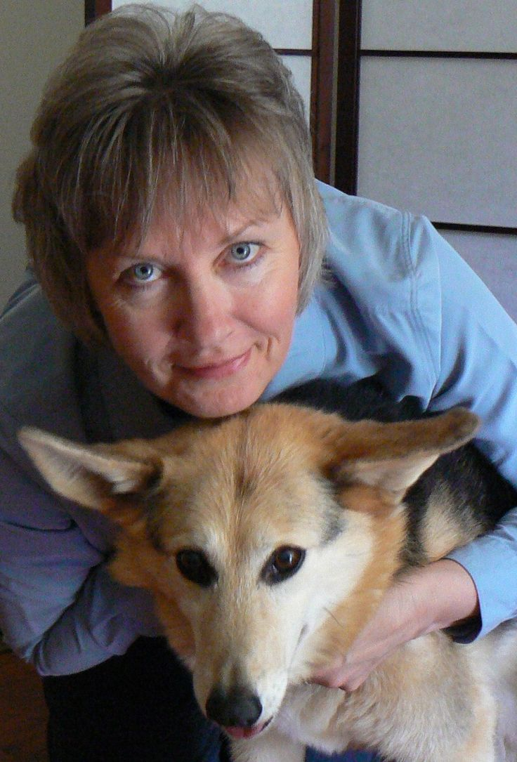 Susan Rouse with her beloved Holly dog. Holly had kidney problems since she was one and a half years old. I know that regular Reiki and Therapeutic Touch sessions helped her kidneys to continue to work and let her live a longer and happier life. She lived to be almost 13 years old. She was attuned to Third Degree Reiki and helped with attunements. She will always be in my heart and with me in spirit.