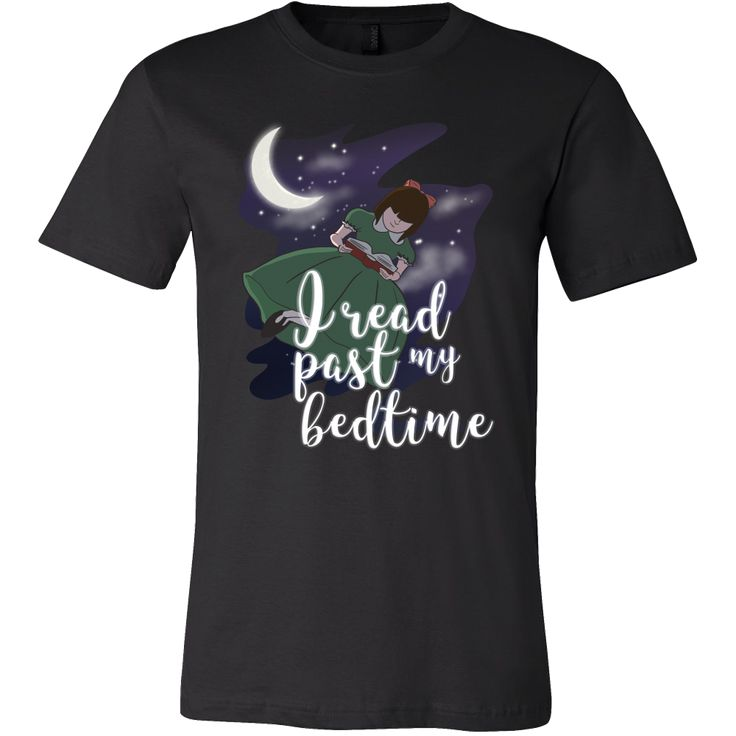 Librarian Funny Gift I Read Past My Bedtime Reading T-shirt