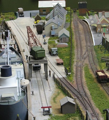 Dock and station. by smudgeloco, via Flickr