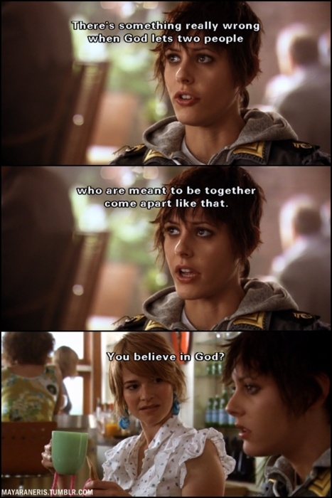 The L Word season 2-  definitely a laughing moment.