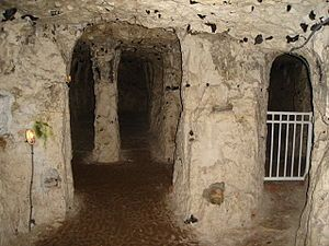 Underground City of Naours, Picardie, Somme, France