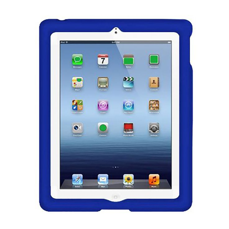 MingShore For Ipad 2 3 4 9.7 Tablet PC Silicone Cover Case 9.7-inch Rugged Kids' Silicone Cover Case For Ipad 2 3 4 Flat Case
