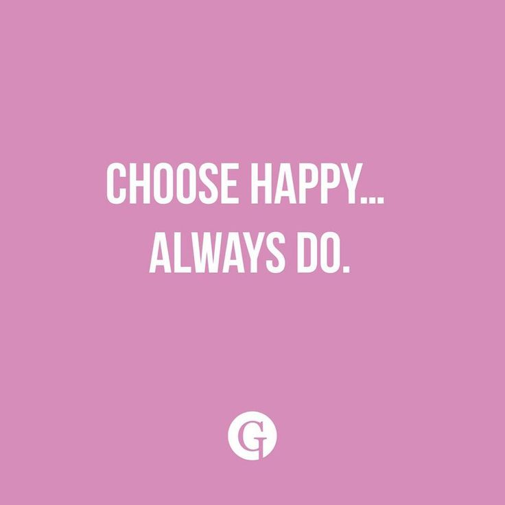We can choose to be happy. #GLIPS #glipstick #quote #happines