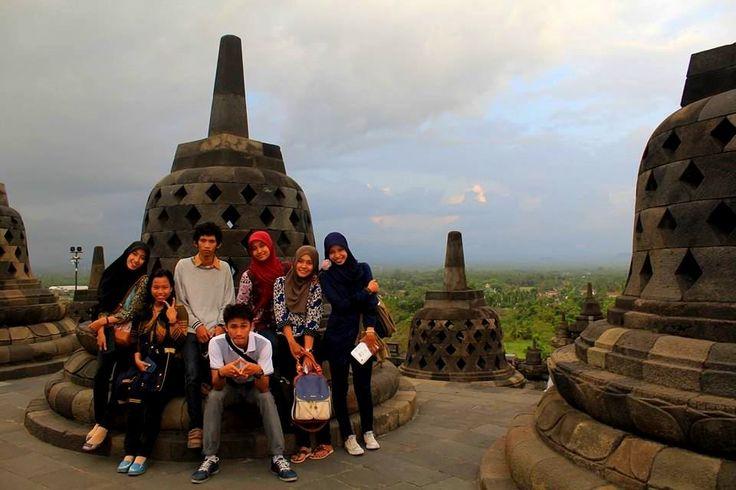 Candi Borobudor, Muntilan, Jawa Tengah, Indonesia