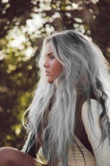 tendenza colore capelli grigi - Cerca con Google