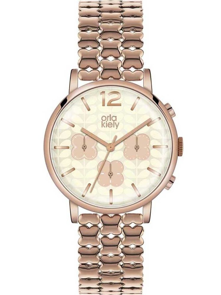 Click to enlarge  Click to enlarge Orla Kiely Frankie Chronograph Bracelet Watch OK4004