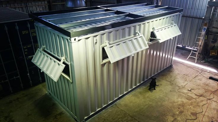 Shipping Container Conversions Quot Bunker Quot Build The